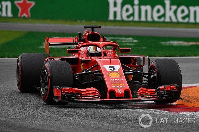 Vettel lidera Hamilton no terceiro treino do GP da Itália