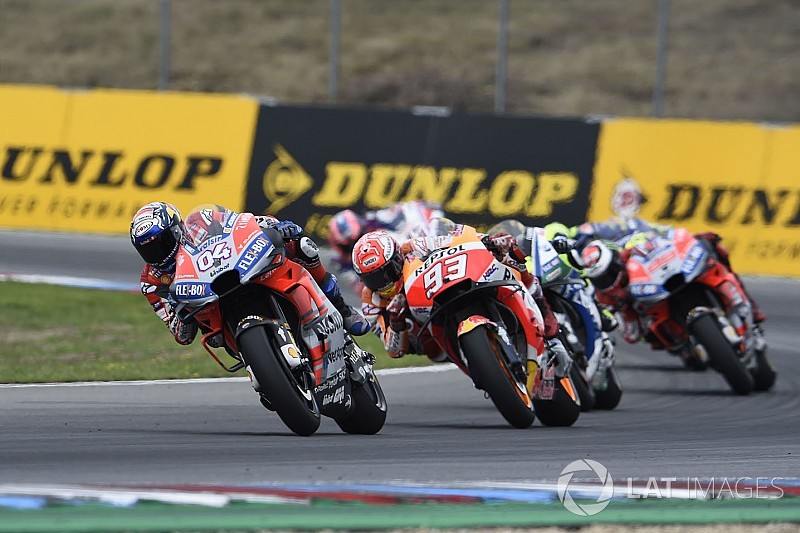 El semáforo del Gran Premio de la República Checa