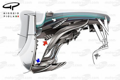 Mercedes: ecco come la W09 ha sfidato la Ferrari sui lunghi rettilinei di Monza