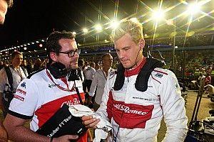 Ericsson: remek lehetőség a Saubernek, hogy Räikkönen a fedélzeten lesz