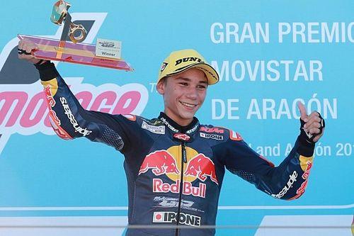 Rookies Cup Aragon: 1. yarışı kazanan Deniz, şampiyona ikinciliğine yakın