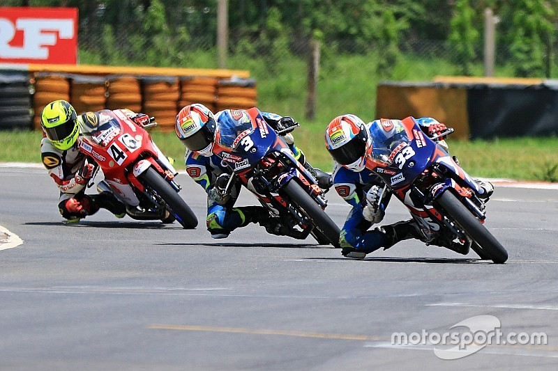 Chennai National Motorcycle: Ahamed takes last-lap win in Race 1