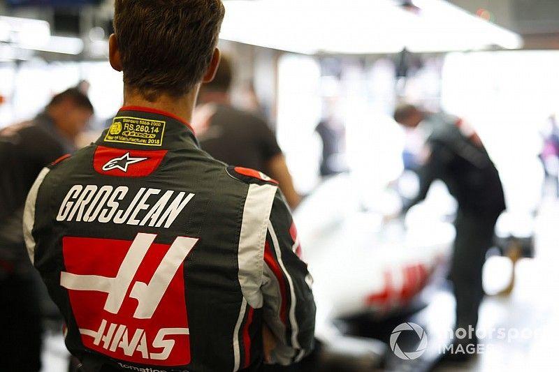 """Haas-engineer Komatsu: """"Grosjean is een vrij fragiele rijder"""""""