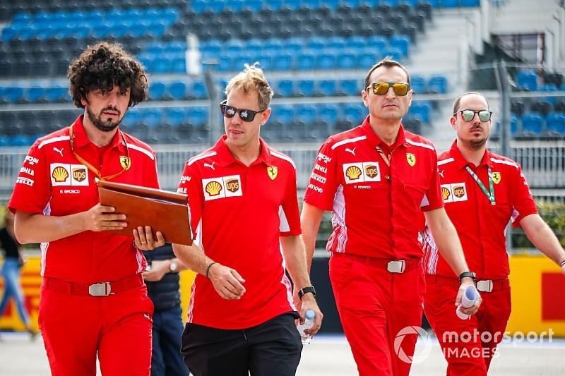 """Vettel: """"No me ha hecho falta motivar al equipo, ellos me motivan a mí"""""""