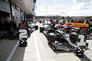 La parrilla de salida GP de Gran Bretaña F1