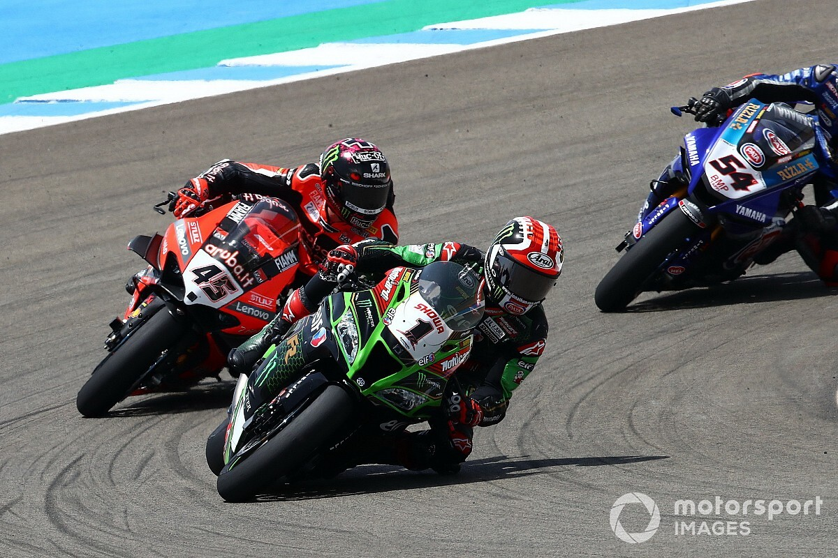 Jerez WSBK: Rea wins Superpole race from Redding