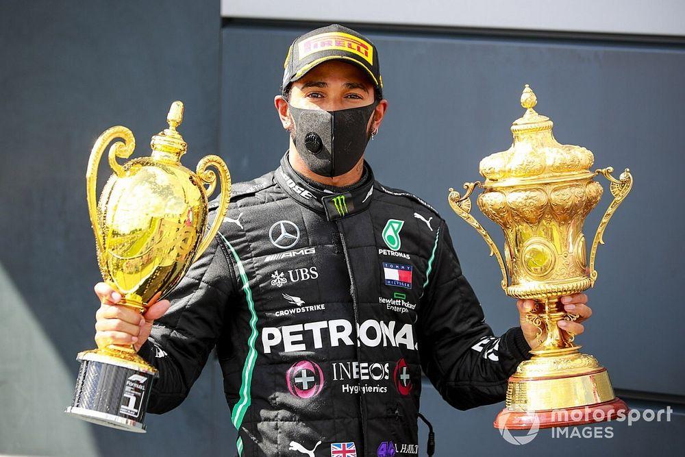 El dominio y la angustia le dan a Hamilton el 'Piloto del día' en Silverstone