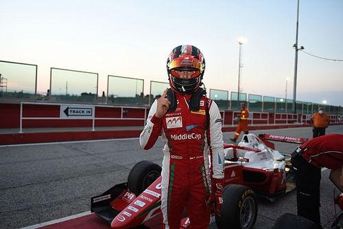 Test F3: Arturh Leclerc e David Schumacher con Prema