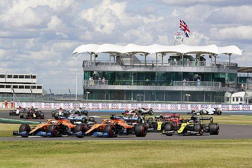 WK-stand na de Formule 1 Grand Prix van Groot-Brittannië 2020