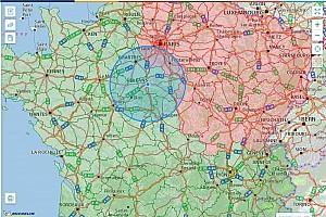 Comment calculer un rayon de 100 km pour vos déplacements?