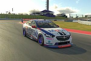 Norris, sanal Supercars serisindeki ilk zaferini aldı