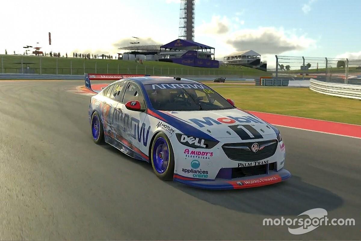 Lando Norris vince la sua prima gara in Supercars Eports Series