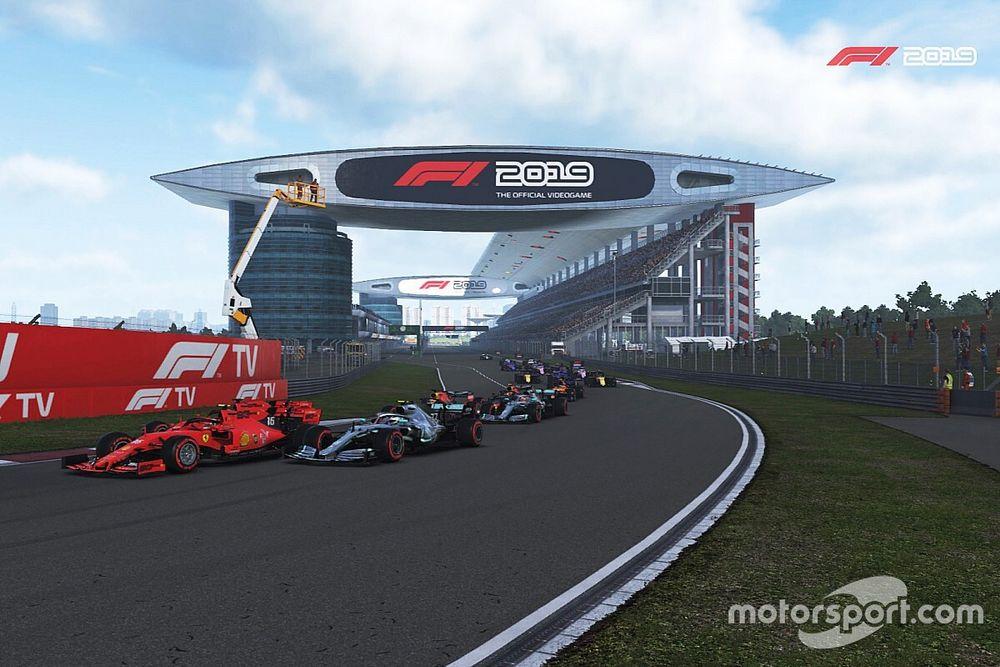 Leclerc gana el GP de China Virtual y Gutiérrez en top 10