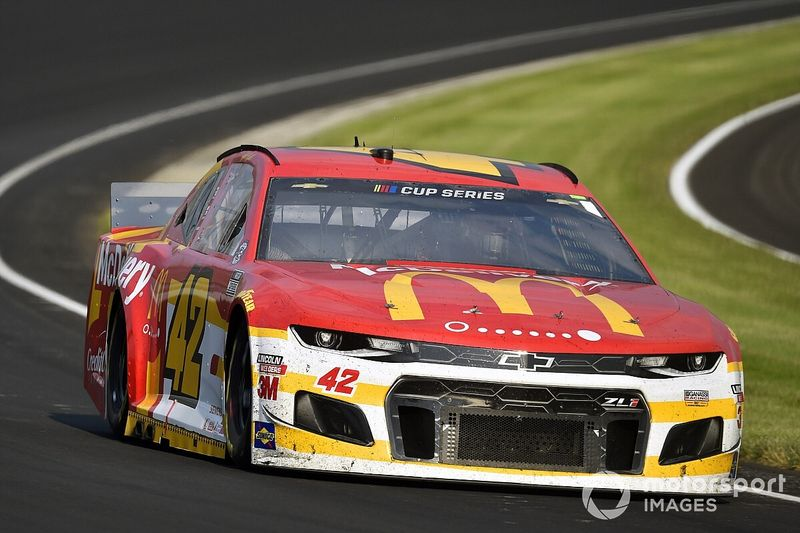 """Kenseth felt """"a lot more comfortable"""" with car at IMS"""