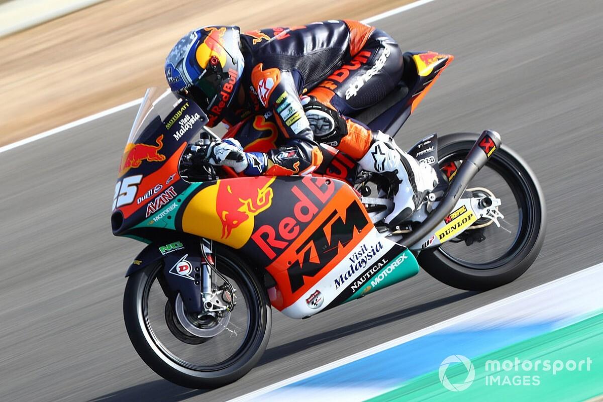 Jerez Moto3: İlk antrenman seansında Fernandez en hızlısı, Deniz geride kaldı