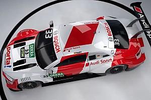 Audi onthult livery's fabriekscoureurs voor DTM-seizoen 2020