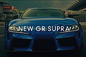 GRスープラのスペシャル動画が公開。スーパーGTドライバーがその速さに大興奮!