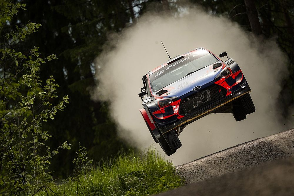 Hyundai, en modo ataque para el Rally de Estonia