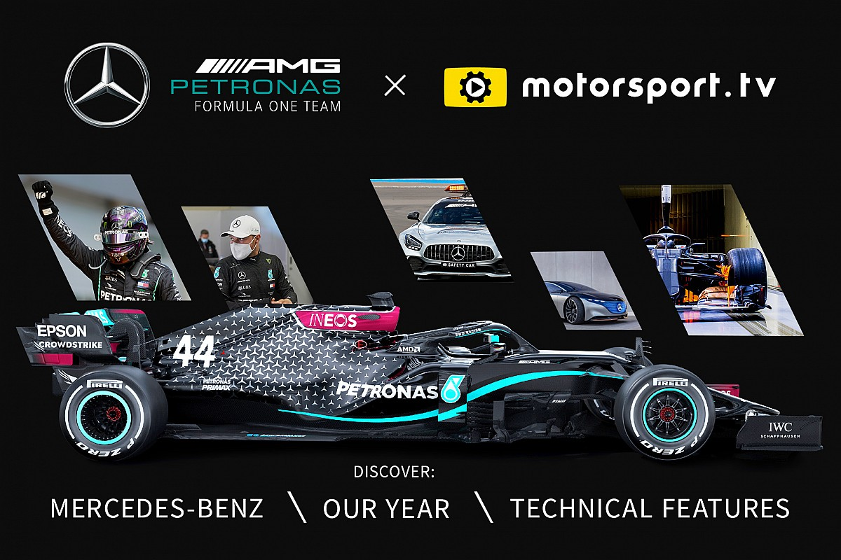 Mercedes w Motorsport.tv