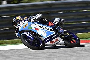 Moto3, Stiria: grande pole di Rodrigo, Arbolino quarto