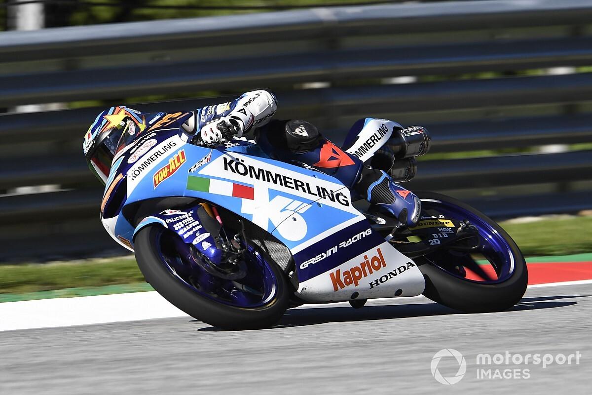 Moto3スティリア予選:鈴木竜生が3番手フロントロウ獲得。PPはロドリゴ