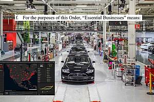 Mégse állította le a termelést a Tesla?