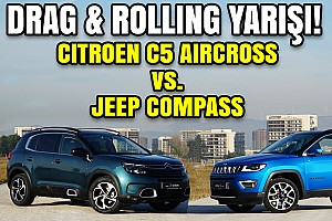 Drag: Citroën C5 Aircross vs Jeep Compass