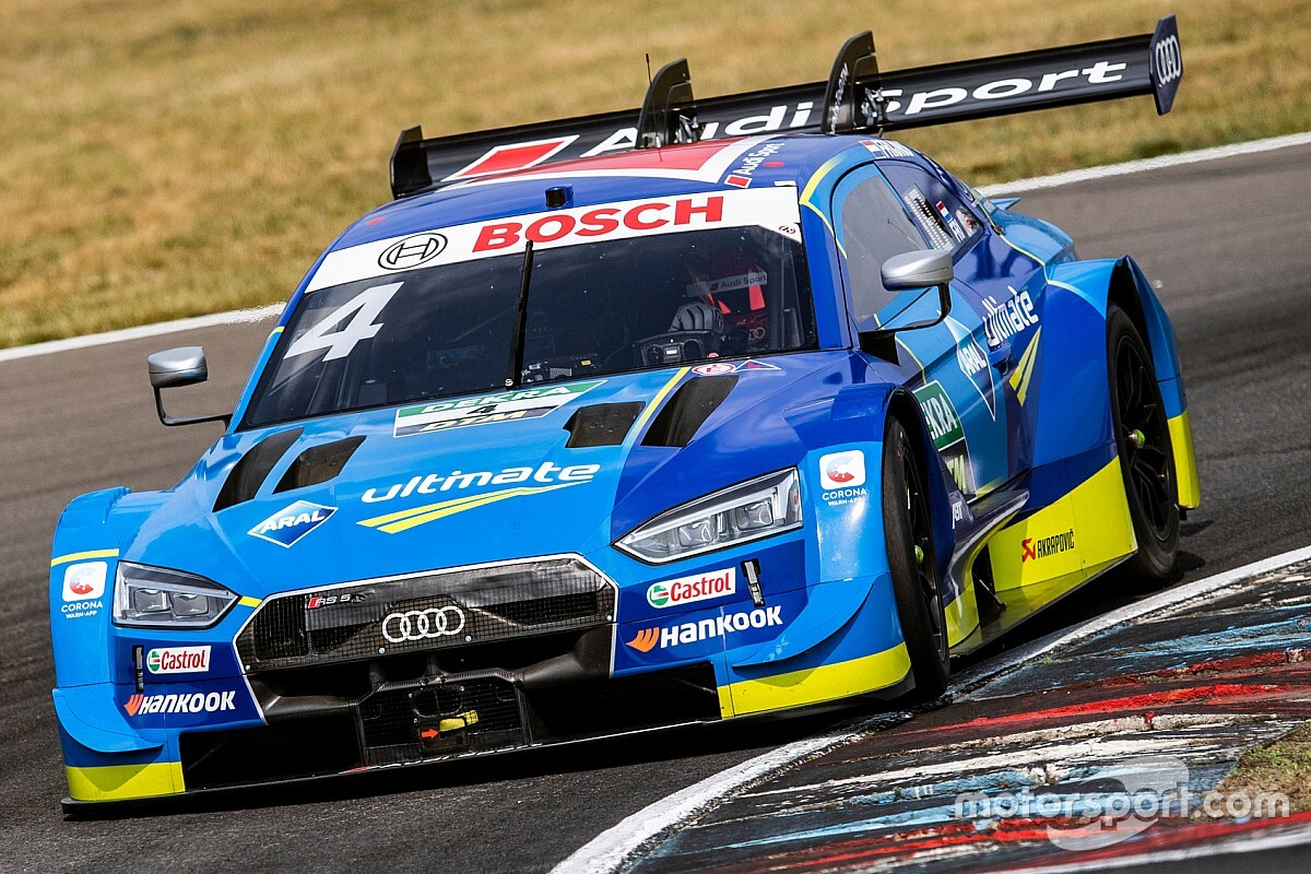 Lausitzring DTM: Frijns completes weekend pole sweep