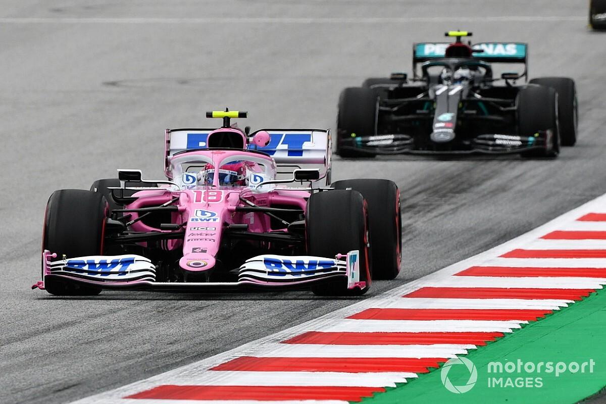 Photos - Le retour des F1 2020 en piste