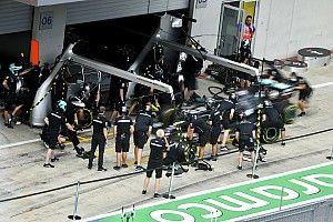 Berger aggódik, mert a Mercedes már megint 0.5 másodperccel gyorsabb