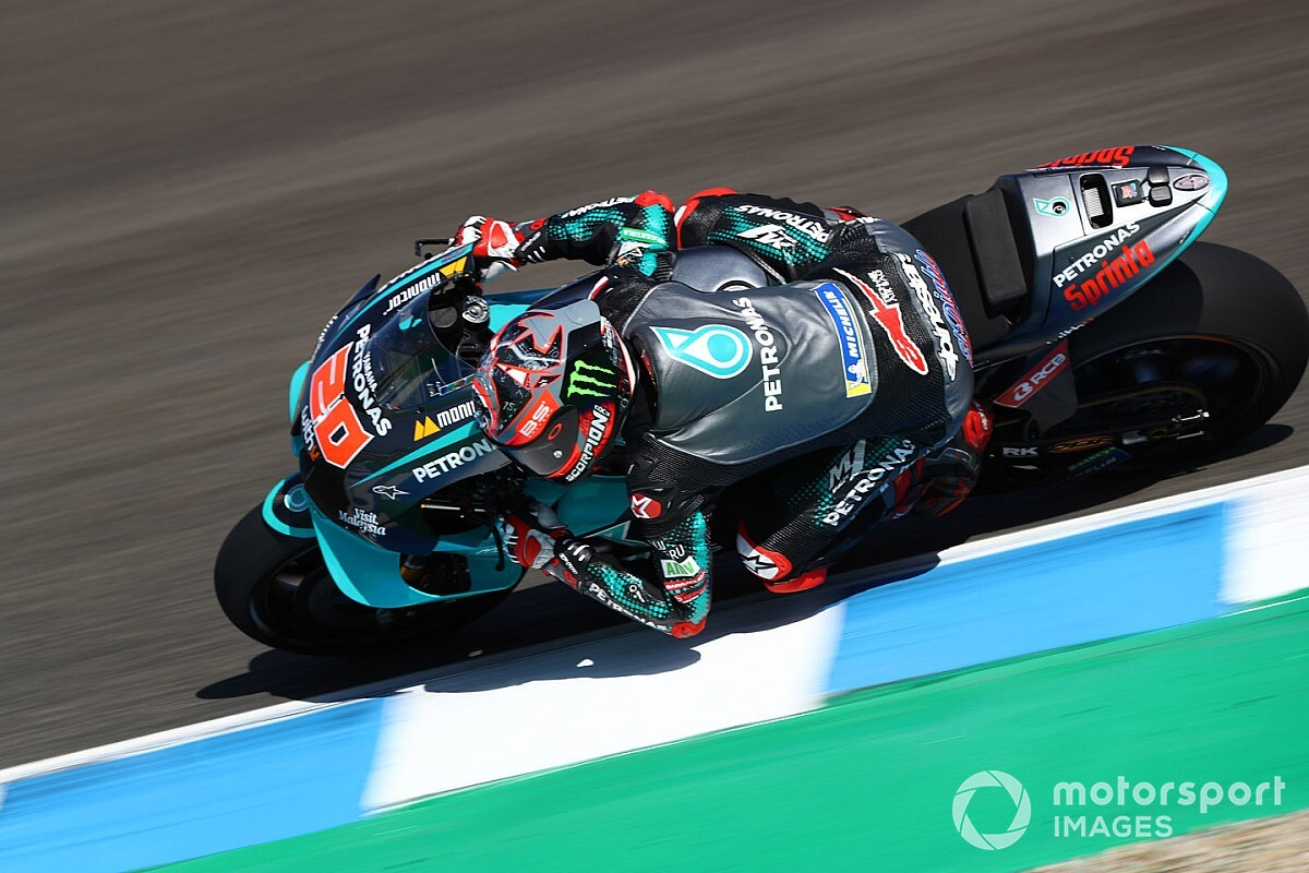 Quartararo: Difficile de vite s'adapter à la Yamaha de 2020