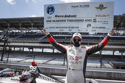 Andretti gana la pole para las 500 Millas de Indianápolis 2020