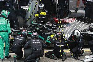 Mercedes: 'Onwaarschijnlijk' dat problemen met banden zijn opgelost