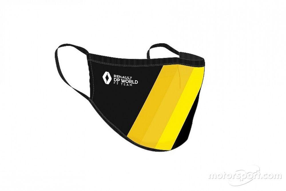 Команда Формулы 1 начала продавать фирменные маски. За €50