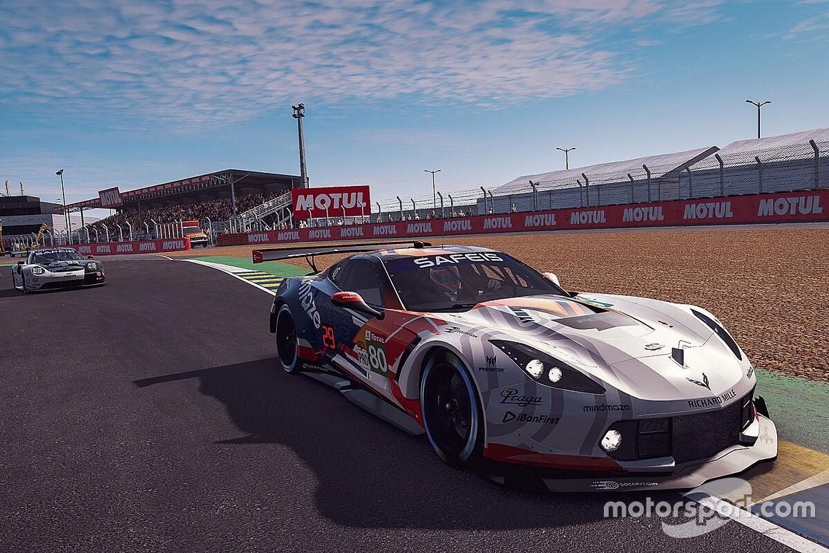 Juncandella se repone y vuelve a pelear el podio en Le Mans virtual