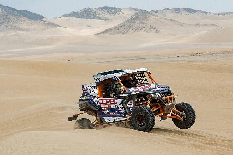 Chaleco López gana en la segunda etapa del Dakar 2019