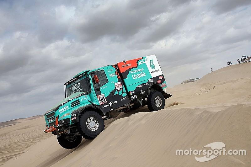 Villagra asciende al segundo de la general en camiones del Dakar