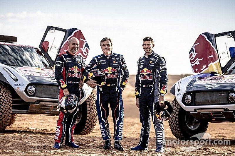 MINI confirma el fichaje de Sainz para el Dakar 2019