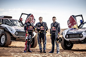 Officiel - Sainz, Peterhansel et Despres rejoignent X-Raid