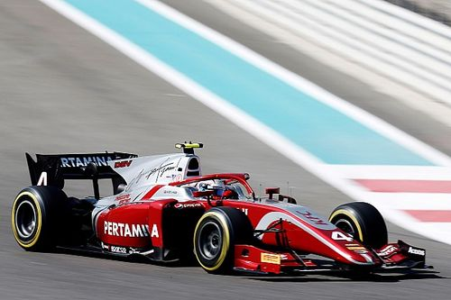F2 Abu Dhabi: Russell verslaat De Vries voor laatste pole van 2018