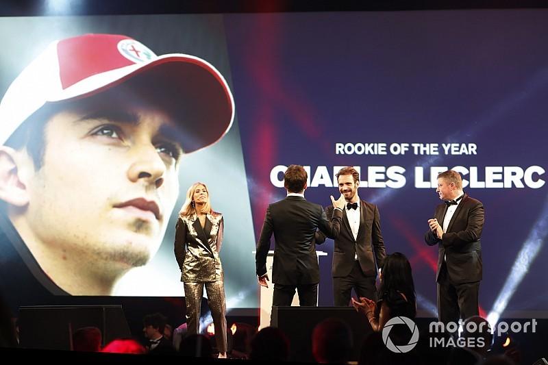 Charles Leclercet választották meg az év újoncának