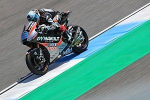 FP1 Moto2 Jepang: Schrotter pimpin sesi, Marquez kecelakaan parah