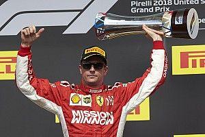 Raikkonen neemt op geheel eigen wijze afscheid van partner Shell