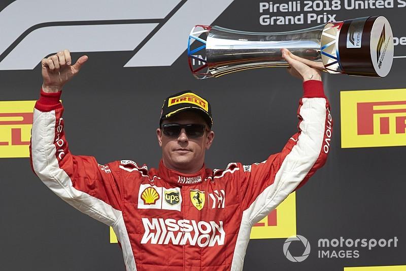 Räikkönen Schumacher 12 éves abszolút rekordját döntötte meg Amerikában