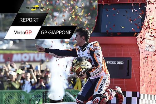 "Motorsport Report: Motegi incorona Marquez, il campione ""camaleonte"""