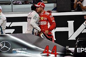Hamilton egészen lenyűgöző rajtelsősége Abu Dhabiból