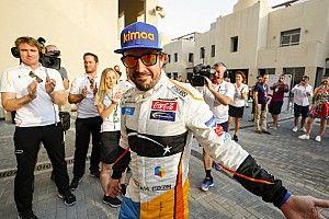 Alonso se lleva el 'Piloto del día' en su 'hasta luego' a la F1