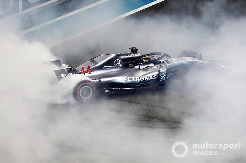 Formel 1 Abu Dhabi 2018: Hamilton beendet WM-Saison mit Sieg
