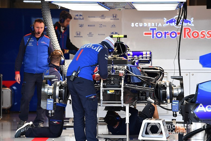 Only Gasly has Toro Rosso upgrade to trial in US