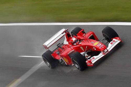 Ferrari do penta de Schumacher será leiloada no GP de Abu Dhabi